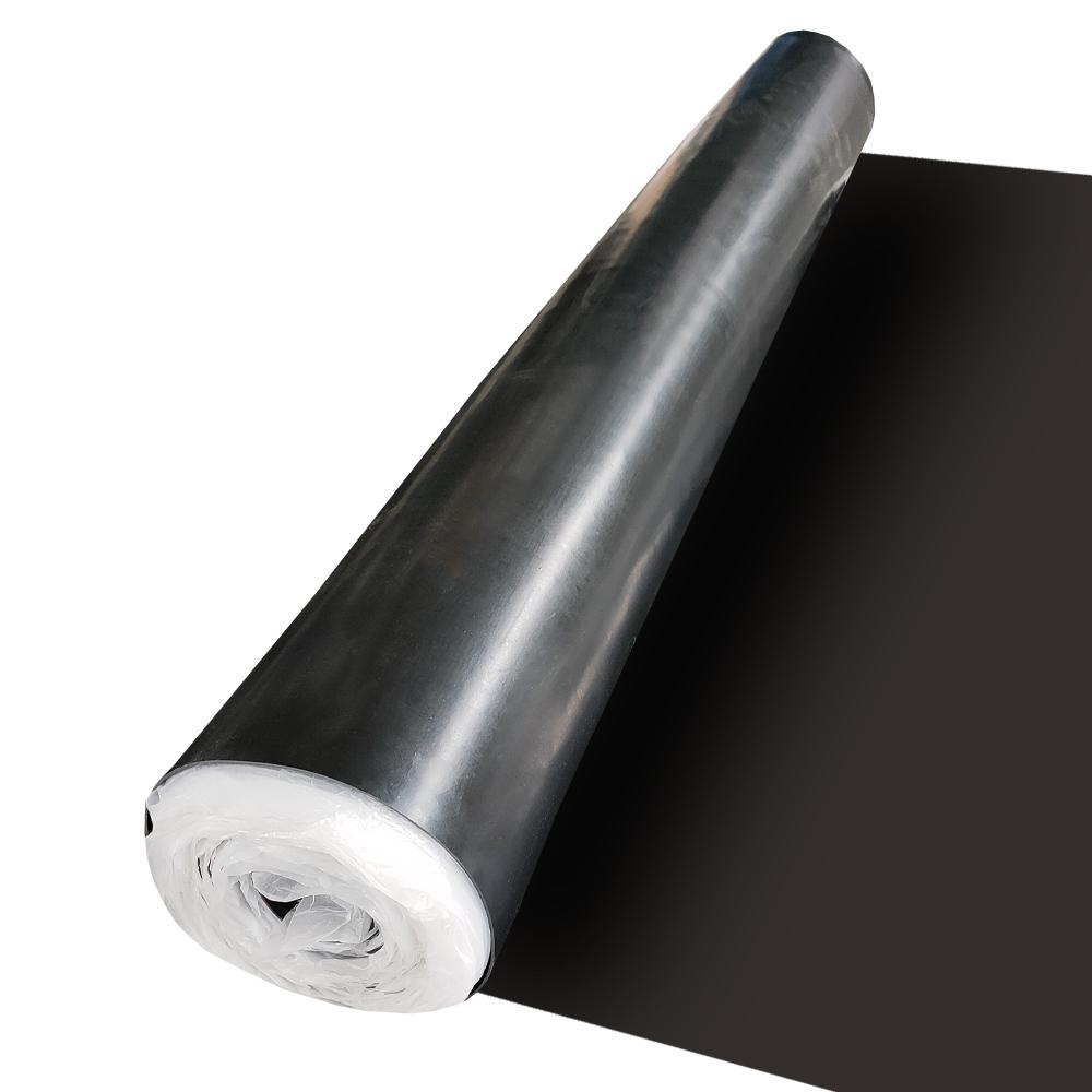 2mm Weather Resistant Waterproof Black CR Epdm Thin Rubber Sheet
