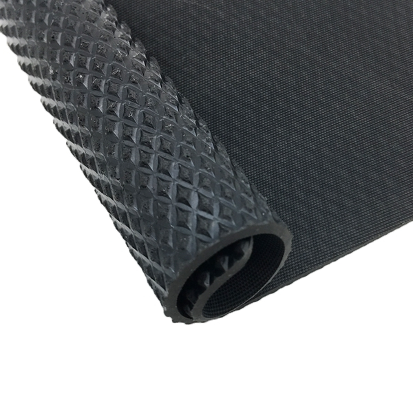 Black Smooth Or Textured Sbr Industrial Rubber Sheet Roll