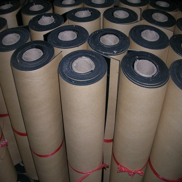 Self-adhesive Natural Rubber Foam Sheet Rolls Closed Cell Neoprene