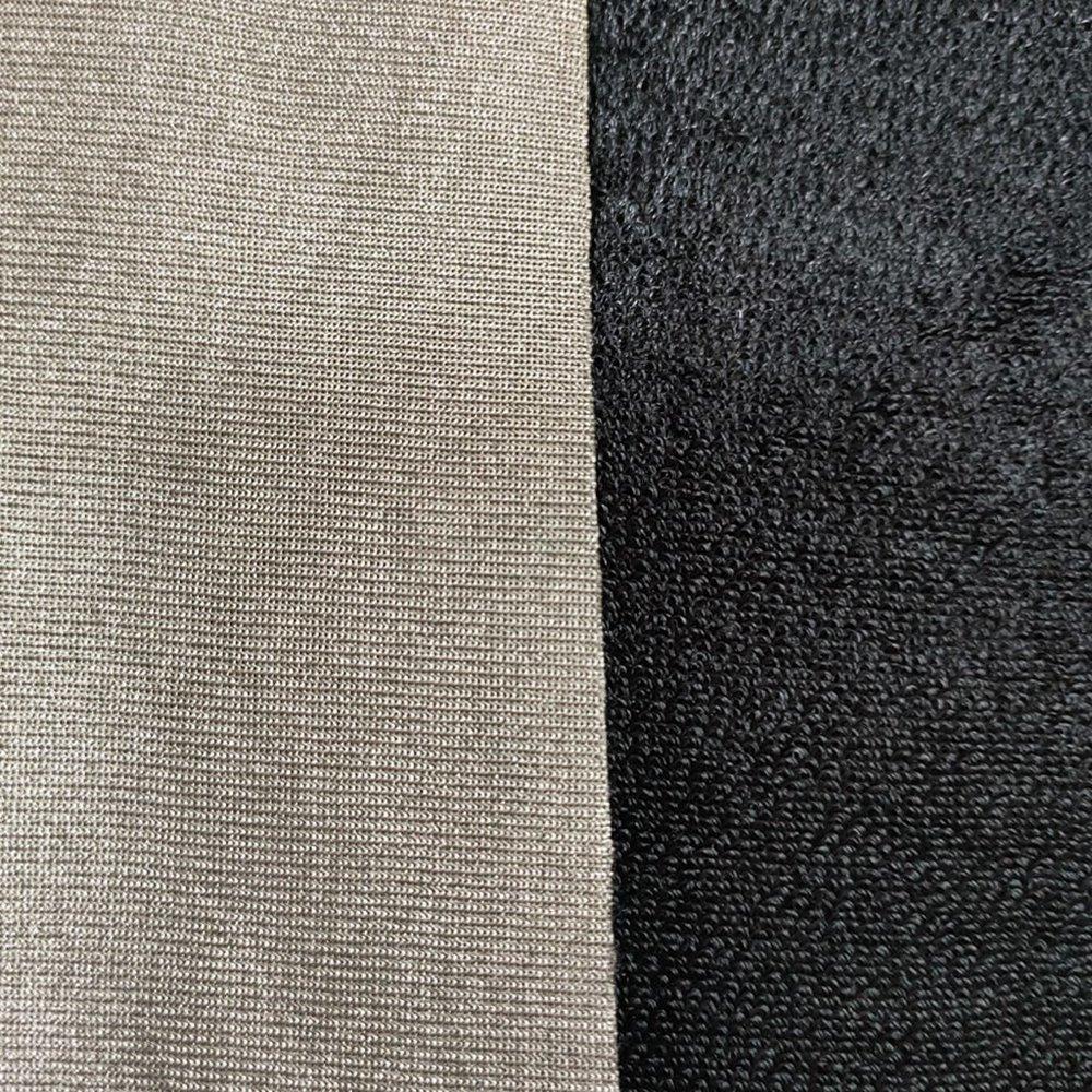 SBR rubber sheet black waterproof neoprene rubber sponge sheet with polyester fabrics
