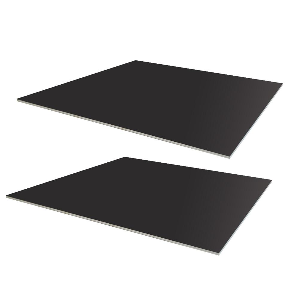 Double Layer Custom Black Rubber Mat Roll Antistatic ESD Floor Mat