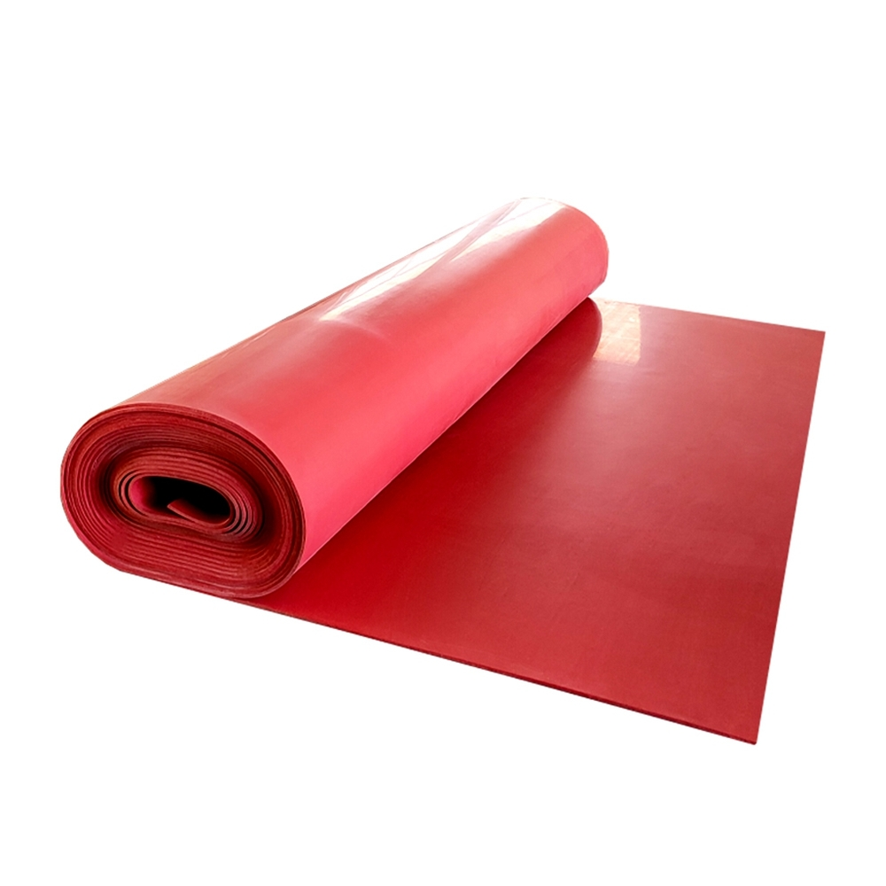 High tensile strength double side smooth pure gum rubber sheet natural rubber sheet