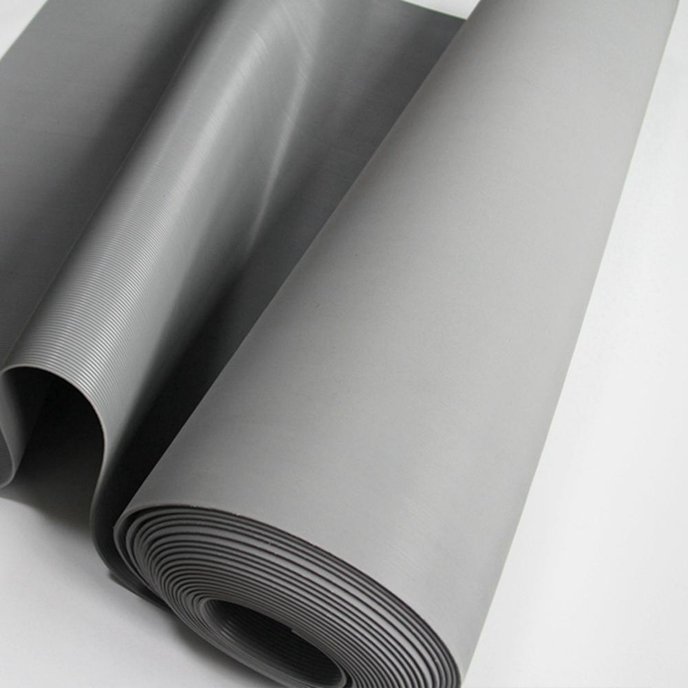 Anti slip aging resistant outdoor corrugated rubber floor mat