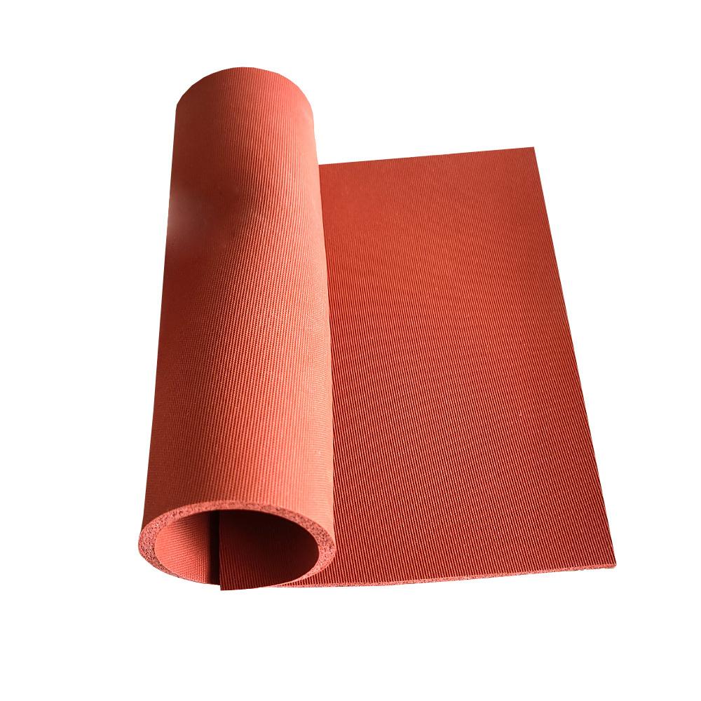 Textured Matt Surface Silicone Sponge Soft Silicone Foam Rubber Sheet