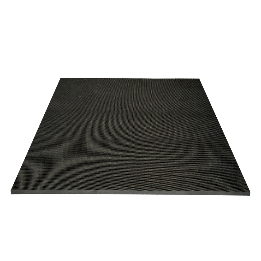 Non-Toxic Rubber Sheet Wearable Black Rubber Mat