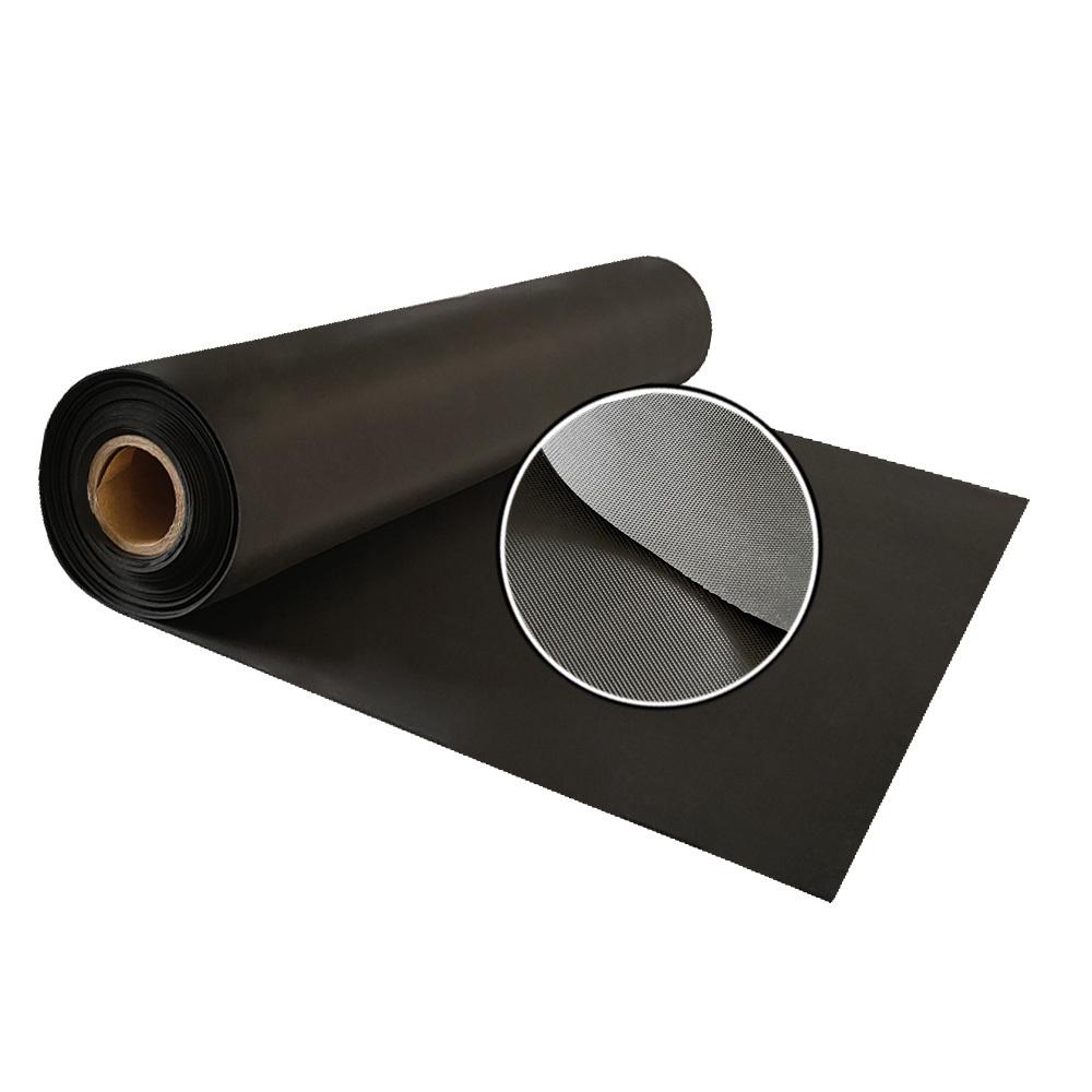 Natural Insulation Embossed Flooring Stable Anti Slip Black Rubber Mat Sheet Rolls